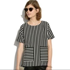 Madewell Stripe Play Pullover Top